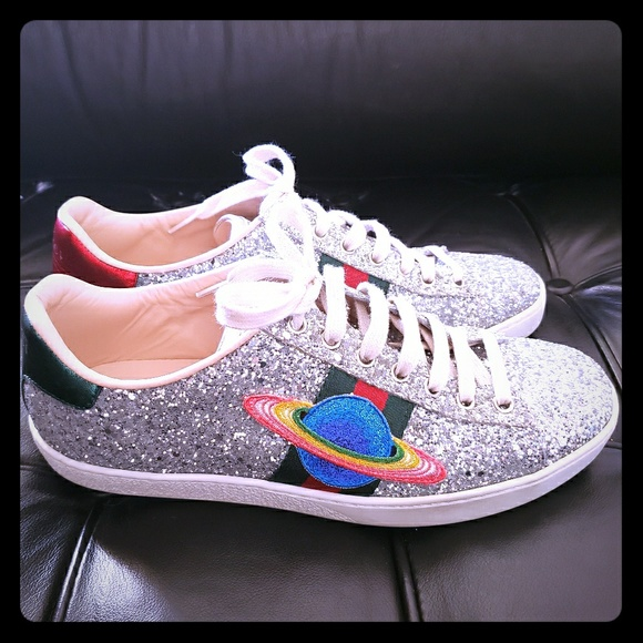 Gucci Shoes   Gucci Ace Saturn Trainer